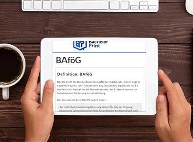 BAföG als Alternative zum Studienkredit